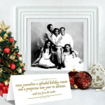 Check Out Donald Duke's Family Christmas Card