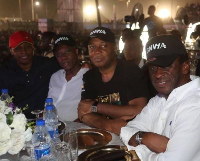 Senate President, Bukola Saraki attended Davido
