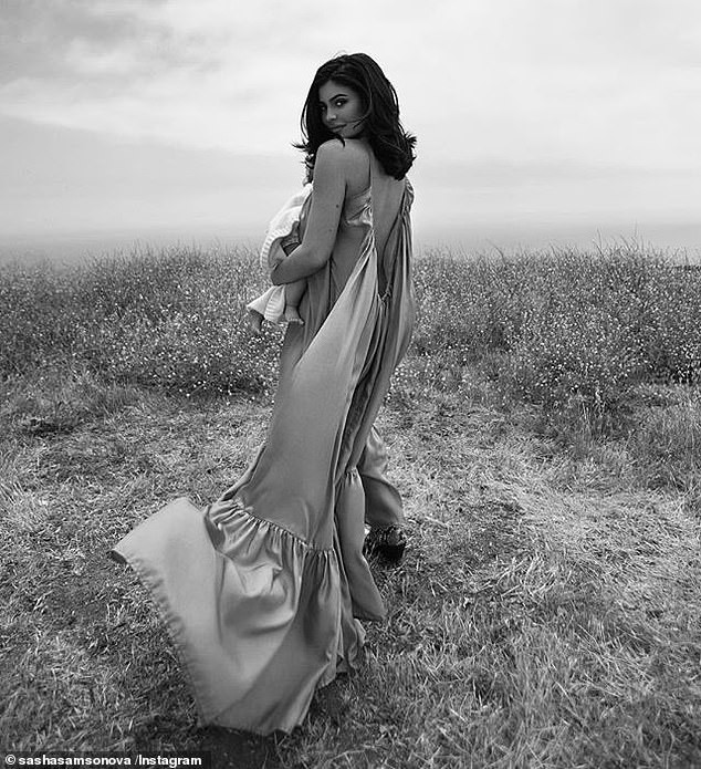 Kylie Jenner shares stunning new photos with her daughter Stormi ahead of her first birthday