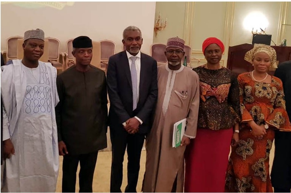 5c29bdb53be2c Rising Afropop Star Mims Rosé meets Vice President of Nigeria Prof Yemi Osinbajo in Berlin   The Power that rules the world