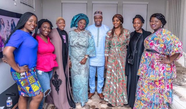 Exclusive photos?from Femi Adebayo?s naming ceremony in Houston Texas, USA