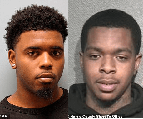 Two men arrested and charged with the murder of 7year old Jazmine Barnes (photo)