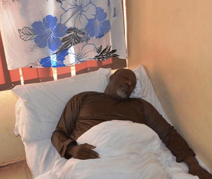 New photos of Dino Melaye in police hospital