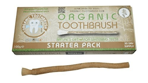 """Chewing stick rebranded and sold abroad as """"organic toothbrush"""" for $15"""