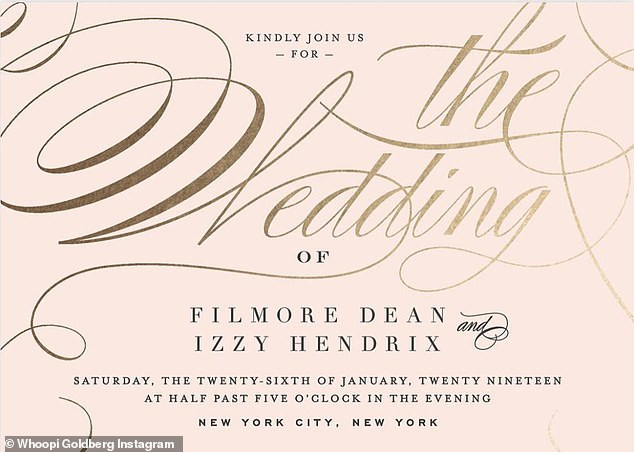 Whoopi Goldberg announces that her family dog is getting married, shares wedding invitation on Instagram (Photos)