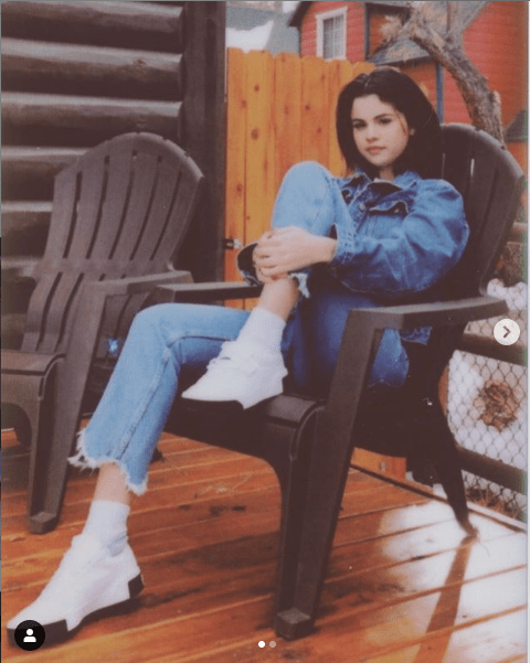 Selena Gomez stuns in new photos as she reveals she has 'lots to look forward to in 2019'