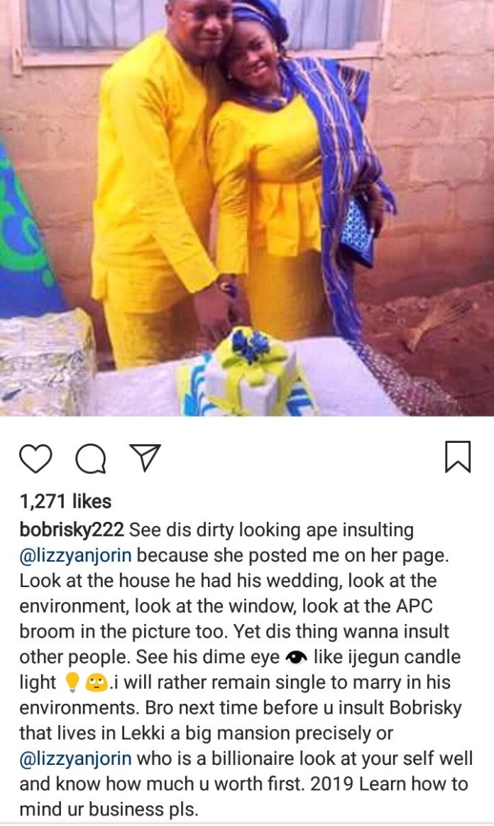 Bobrisky and Liz Anjorin drag the heck out of a man who insulted Bobrisky
