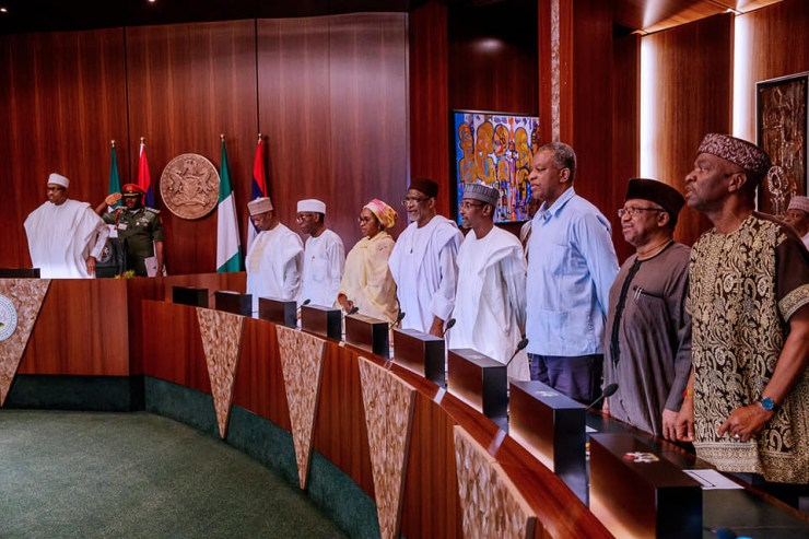 Photos:?President Buhari swears In Acting Chief Justice of Nigeria, Ibrahim Tanko Mohammed to replace?Walter Onnoghen