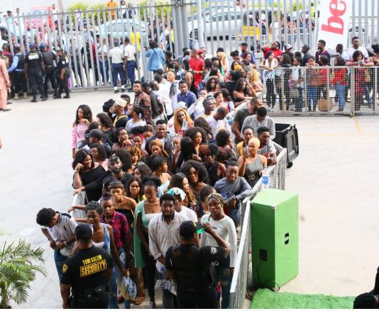 The crowd at the #BBnaija auditions is proof of our flawed value system and our failed government - Nigerians react