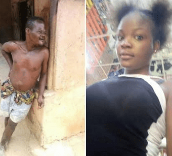 Photos: Young girl declares interest in man with down syndrome who married 15-year-old girl in Ozubulu, says people should stop insulting him