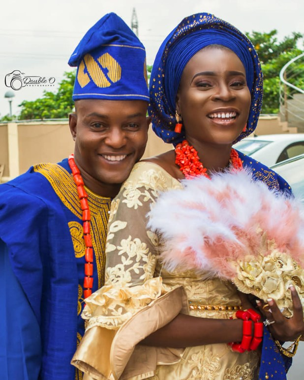 Nigerian woman with four kids from three failed marriages who recently got hitched to a single guy with no children shares her story