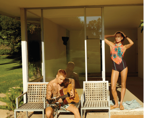 Justin Bieber and Hailey Baldwin cover Vogue magazine