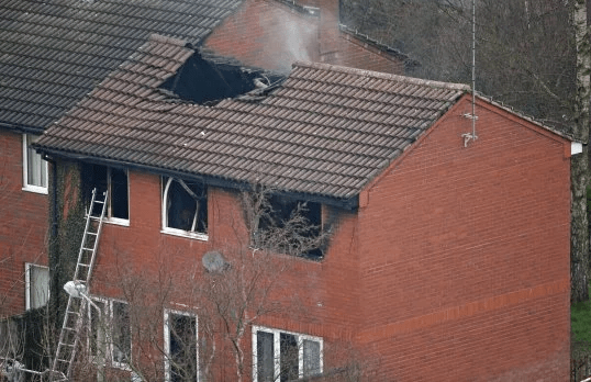 Mum and dad arrested after 4 of their children died in a house fire