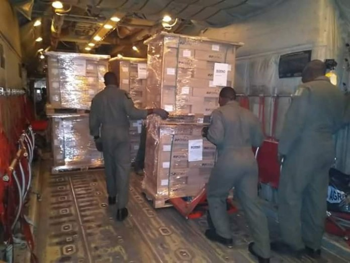 2019 elections: Nigerian Air Force begins airlift of election materials for INEC