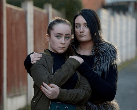 Parents of bully victim release sick Snapchat video of their 11-year-old daughter being savagely attacked by bully after school