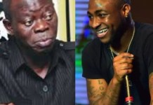 2019 Elections: Davido trolls Adams Oshiomole on IG