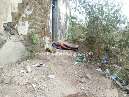 Photo: Man found dead in Ibadan with his head cut off, genitals, intestines removed
