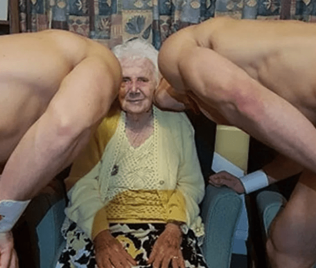 Great Great Grandmother Treated To Naked Men For Her 100th Birthday Party 18 Photos