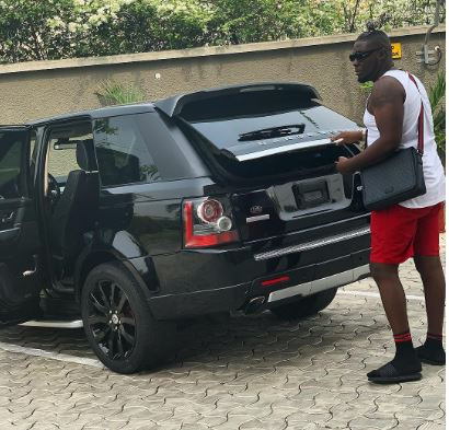 Dbanj buys a Range Rover for his artist, Cheekychizzy (Photo)