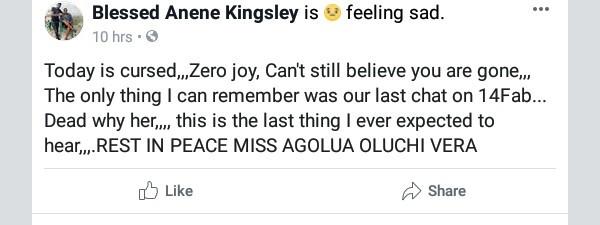 Photos: Nigerian beauty queen dies a month after her birthday
