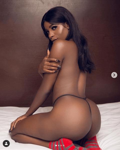 Nigerian lady who calls herself