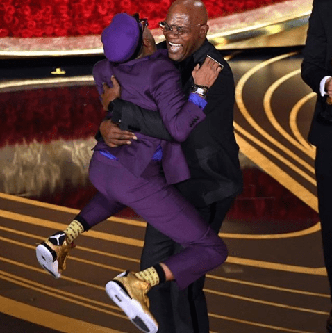 Spike Lee jumps into Samuel L Jackson