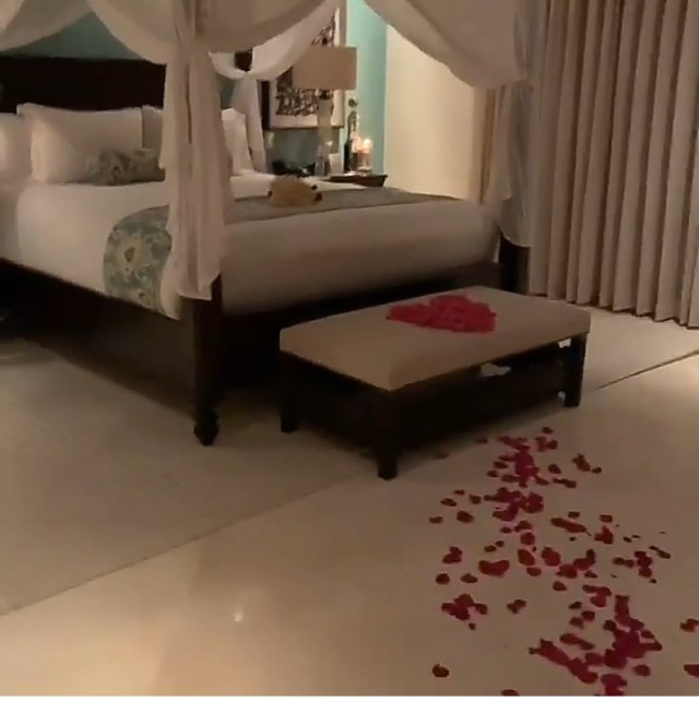 """He want me to suck his d*** for hours today"" Cardi B says after she got home to find rose petals all over her floor and bed (video)"