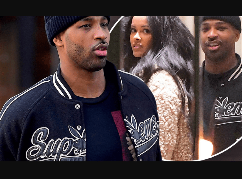 Tristan Thompson caught with a pretty lady amidst Jordyn Woods Cheating Scandal (Photos)