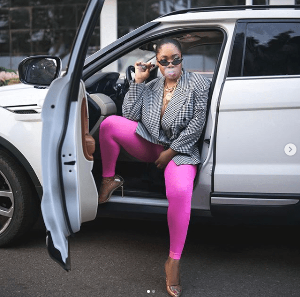 Actress Moesha Boduong goes braless as she celebrates 29th birthday with raunchy photos