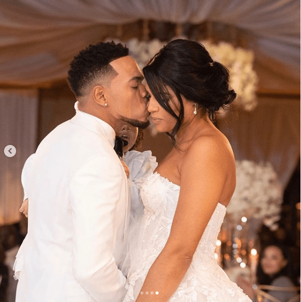 Chance The Rapper shares more photos from his romantic wedding to longtime girlfriend Kirsten Corley