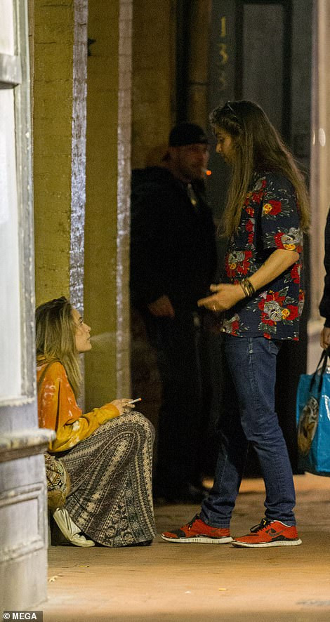 Paris Jackson breaks down in tears after getting into heated argument with her rocker boyfriend (Photos)