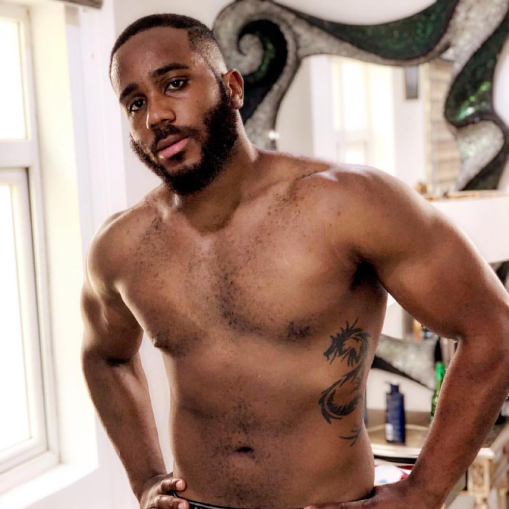Billionaire son, Kidd Waya, shows off his eggplant and hot abs on Instagram