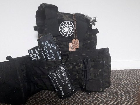 Weapons used in the New Zealand mosque mass shooting had names of previous mass killers written on them