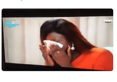 BBNaija Reunion: Alex breaks down in tears after Cee-c revealed to the World that she had sex with Tobi (Videos)