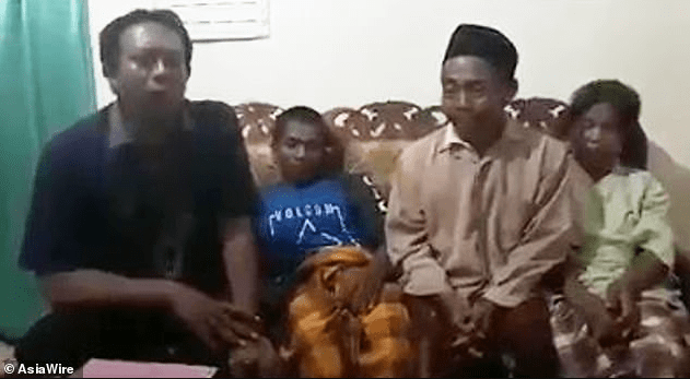 Widower forced to show his manhood to friends and officials after his wife