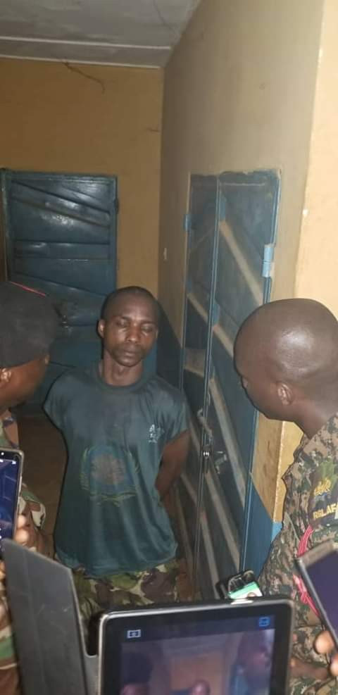 Graphic: Army officer shot dead by his bodyguard