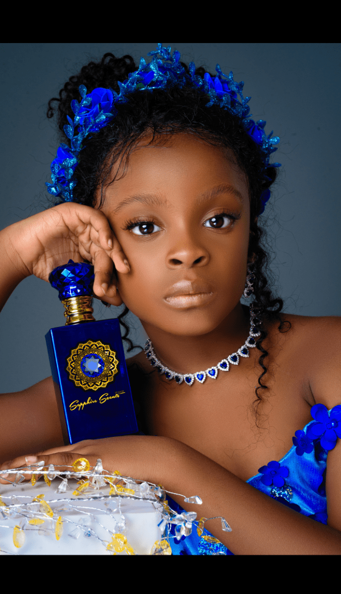 Beautiful and amazing Miranda twins model for the Face of Sapphire Scents 1.5 Million Naira Challenge