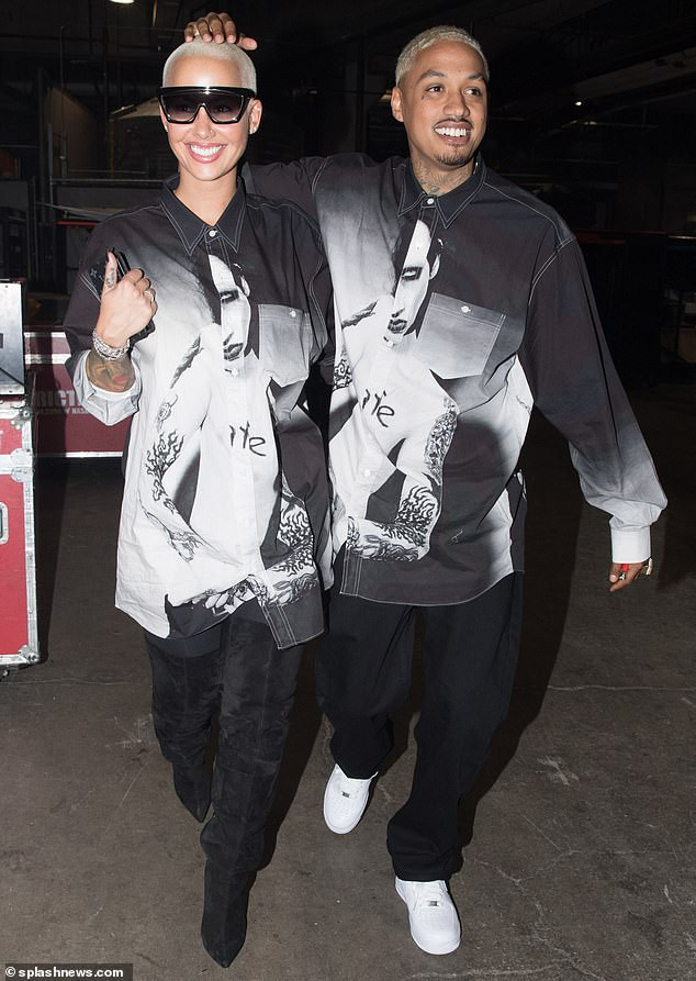 Amber Rose is expecting her second child with boyfriend Alexander