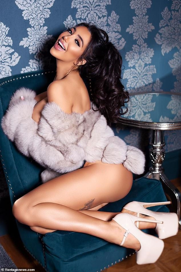 Reality star Chloe Khan shows off her surgically enhanced body?as she strips naked in Playboy shoot (18+Photos)