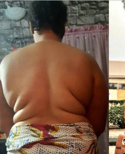 Actress Georgina Ibeh showcases her unbelievable weight loss transformation by sharing before and now photos