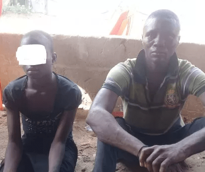 Man arrested for defiling 12-year-old girl who was chased away from home by her aunt In Abia (photo)