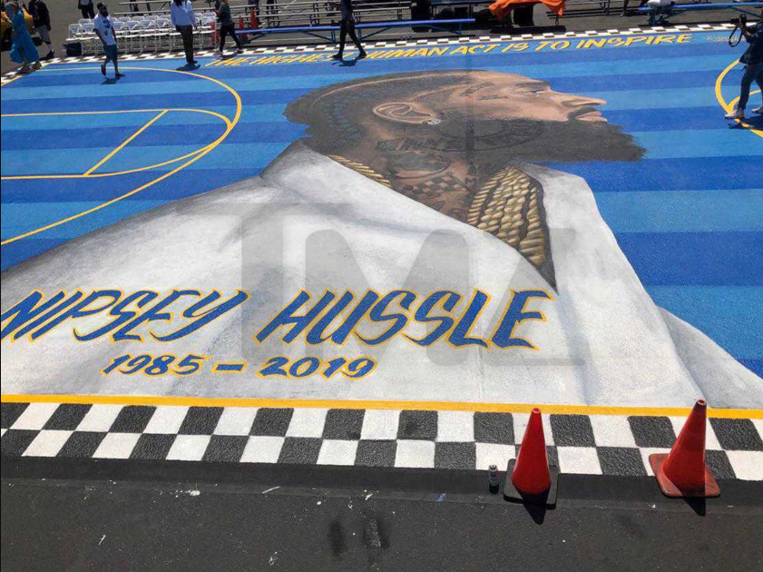 Basketball court named after Nipsey Hussle