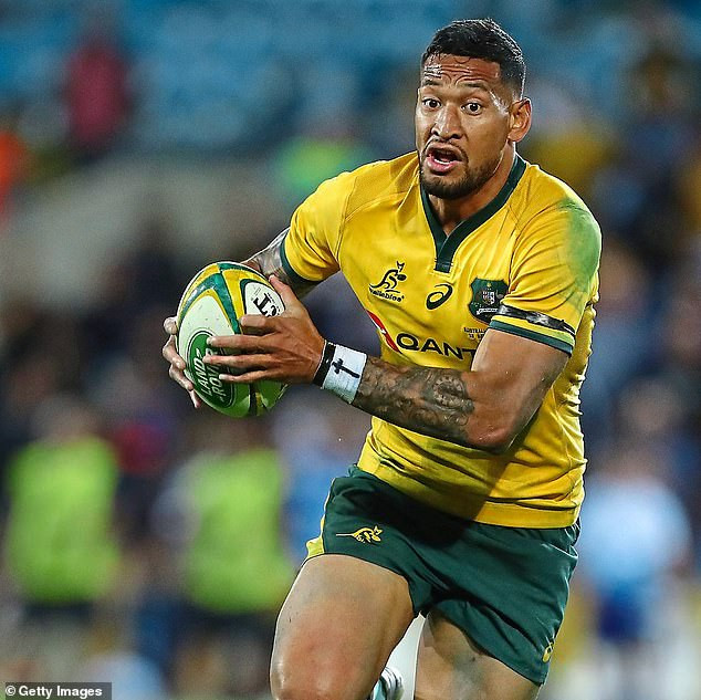 Christian Australian rugby star, Israel Folau ruled out of Rugby World Cup?for saying