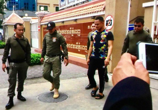 Photos: Nigerian man and his foreign wife arrested in Cambodia for fraud at the request of US Embassy