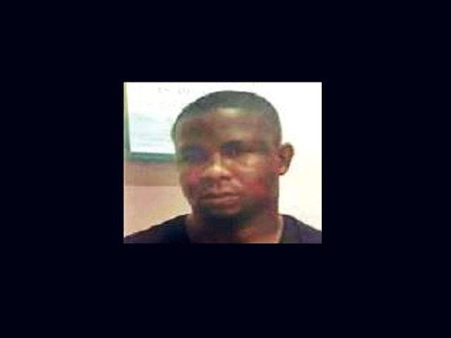 Photos: Nigerian footballer arrested with drugs in India