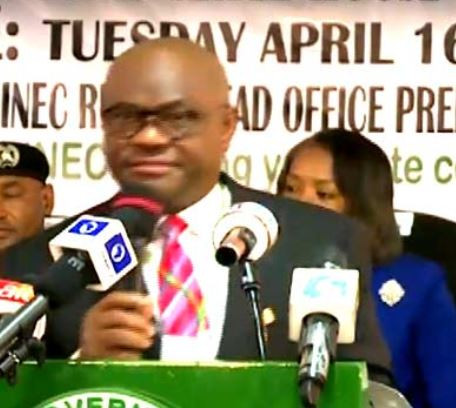 INEC presents certificate of return to Governor Wike and lawmakers In Rivers State
