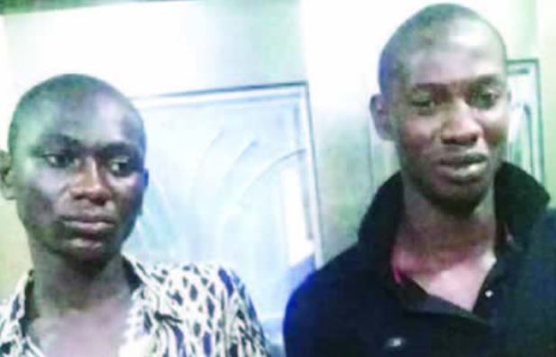 Two young men arrested for beheading and killing five people during the weekend cult clash at Ajah, Lagos