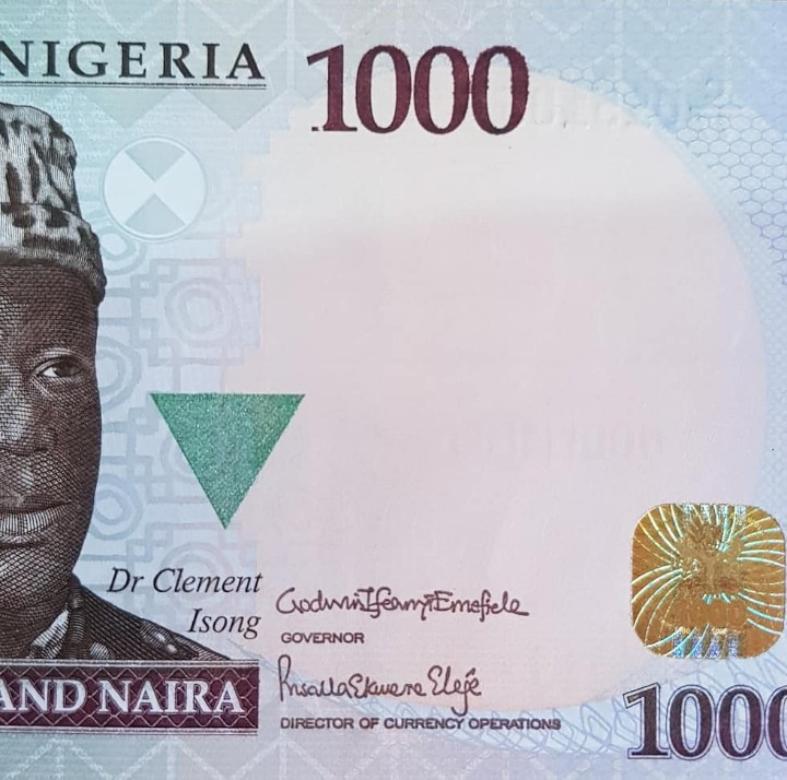 History made as Mrs Priscilla Ekwere Eleje becomes the first woman to have her signature on the 1000 Naira note