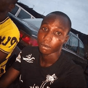 Brave soldier beaten black and blue for preventing louts from carrying out jungle justice on a driver who accidentally killed one of them (graphic photo)