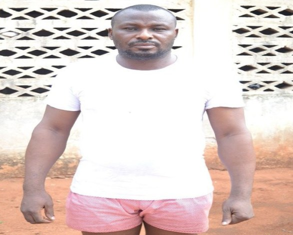Photo: Fake Army Major arrested in Delta State
